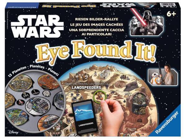Jeu de société enfants - jeu d'action - star wars eye found it