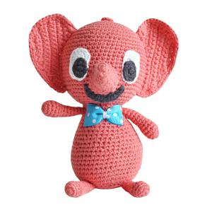 Littlephant - 1113 - Peluche musicale - Littlephant - Red (307642)