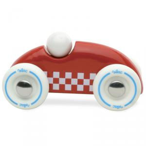 Vilac - 2282R - Petit voiture Mini rallye checkers rouge (307854)
