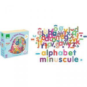 Vilac - 6703 - Magnets Alphabet minuscule 81 pcs - à partir de 3+ (307926)