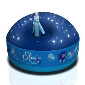 Trousselier - 5003 - Veilleuse - Projecteur d'Etoiles Musical Elsa - La Reine des Neiges© - 12 cm - Piles Inclues (308644)