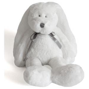 Dimpel - 860405 - Neela doudou lapin 18 cm - blanc (310550)