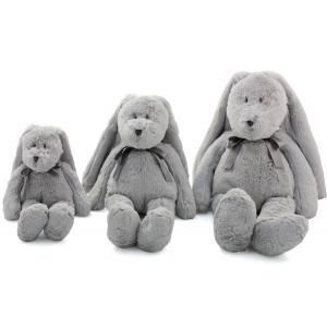 Dimpel - 860522 - Neela doudou lapin 25 cm - gris-clair (310560)