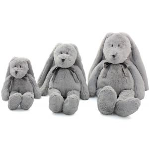 Dimpel - 860535 - Neela doudou lapin 32 - gris-clair (310562)