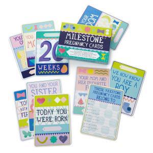 Milestone Cards - 106-000-006 - Cartes étapes grossesse - femme enceinte (310706)
