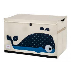 3 Sprouts - 107-001-003 - Coffre à jouets Baleine (311298)