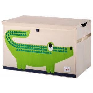 3 Sprouts - 107-001-004 - Coffre à jouets Crocodile (311300)