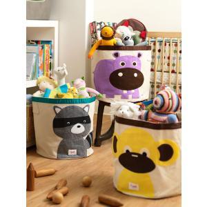 3 Sprouts - 107-000-008 - Sac à jouets Singe (311320)