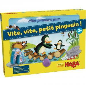 Haba - 301843 - Mes premiers jeux – Vite, vite, petit pingouin ! (315440)