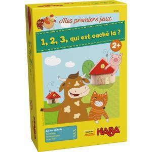 Haba - 301856 - Mes premiers jeux – 1, 2, 3, qui est caché là ? (315454)