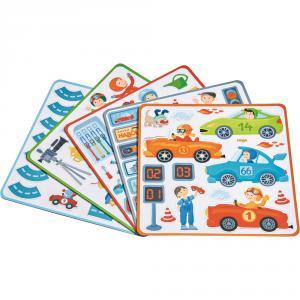 Haba - 301948 - Boîte de jeu magnétique Petits Bolides (315546)