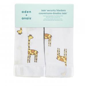 Aden and Anais - 7507G - couvertures-doudous issie declan girafe (318862)