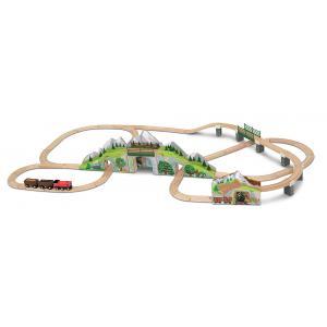 Melissa and doug - 10611 - Set tunnel train de montagne (322312)