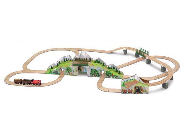 Set tunnel train de montagne