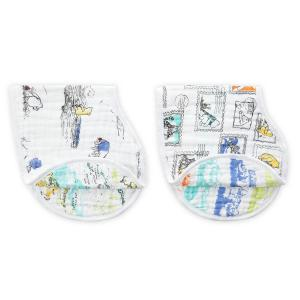 Aden and Anais - DISN280G - bavoirs d'épaules - burpy bibs winnie l'ourson (322336)