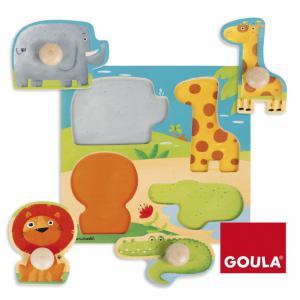 Goula - 53004 - Jeu d'encastrement Animaux Sauvages (325732)