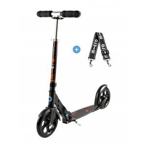 Micro - SA0034 - Trottinette Micro Black - PU 200mm (328198)
