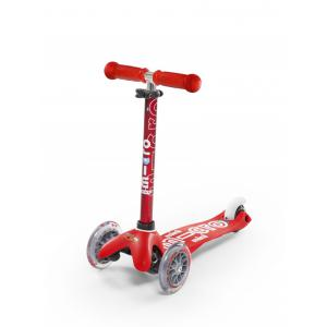 Micro - MMD007 - Trottinette 3 roues Mini Micro Deluxe rouge (328476)