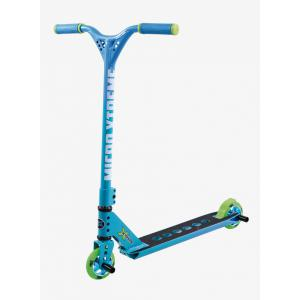 Micro - SA0116 - Trottinette freestyle MX Trixx 2.0 Rainbow Blue - Pegs inclus (328550)