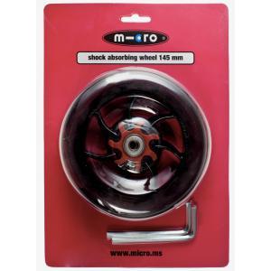 Micro - AC5008B - Roue AV/AR pour Speed+ - 145mm avec absorbeur de choc (vendue par deux) (328588)