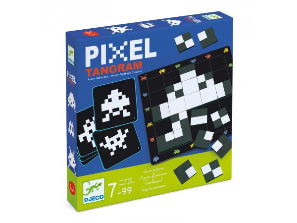 Jeux - pixel tangram