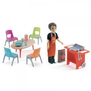 Djeco - DJ07829 - Maisons de poupées -  Barbecue et accessoires * (330178)