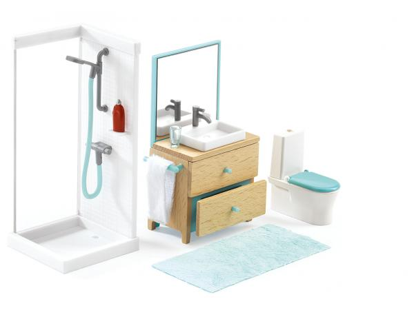 Maisons de poupées - la salle de bain