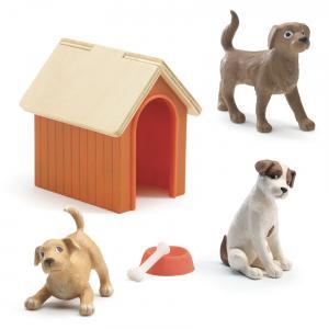 Djeco - DJ07818 - Maisons de poupées -  Les chiens * (330200)