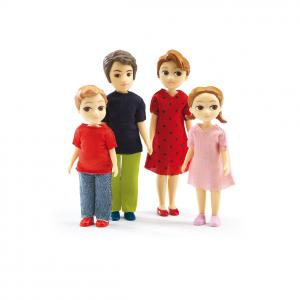Djeco - DJ07810 - Maisons de poupées -  La famille de Thomas et Marion  * (330214)
