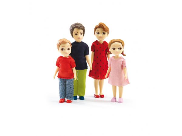 Maisons de poupées - la famille de thomas et marion *