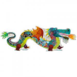 Djeco - DJ07170 - Puzzle géants Léon le dragon (330336)