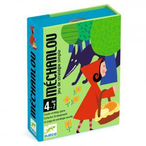 Djeco - DJ05126 - Jeux de cartes -  Méchanlou (331032)