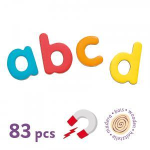 Djeco - DJ03102 - Jeu magnétique en bois 83 script letters (331066)
