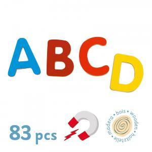 Djeco - DJ03101 - Jeu magnétique en bois 83 small letters (331068)