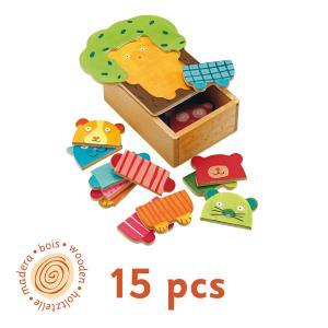 Djeco - DJ01681 - Puzzle bois Arbra doudou (331158)