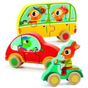 Djeco - DJ01250 - Puzzles bois - Jako et Co (331192)