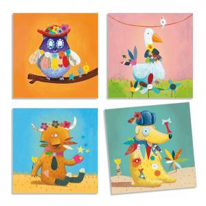 Djeco - DJ08932 - Stickers des petits - Créer des animaux (331472)