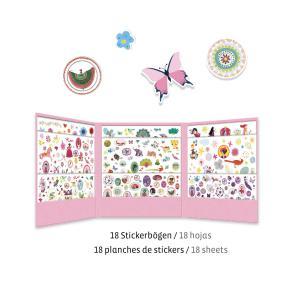 Djeco - DJ08951 - Stickers - 1000 stickers - sweet (331490)