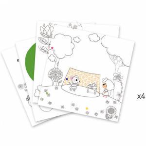 Djeco - DJ09637 - Coloriages surprises -