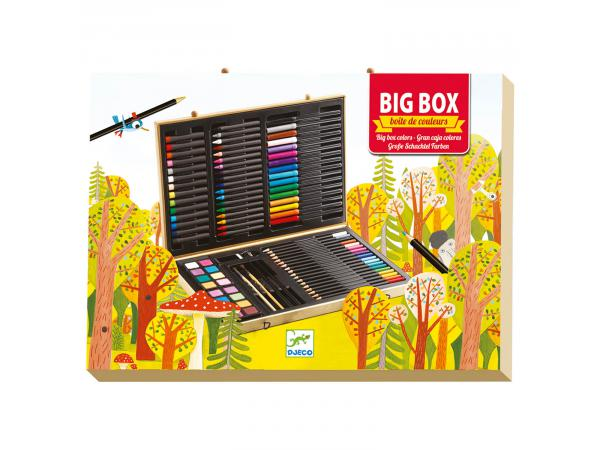Les couleurs - pour les grands - grande boite de couleurs*