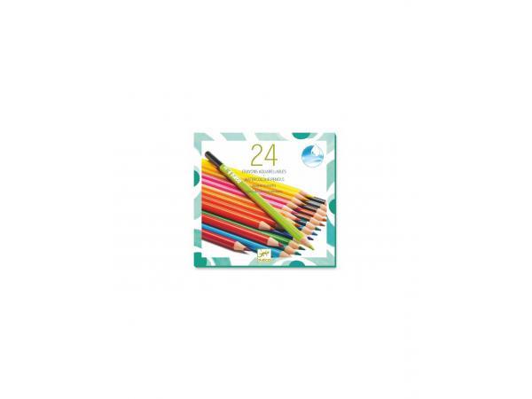 Les couleurs - pour les grands - 24 crayons aquarellables