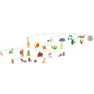 Djeco - DD04318 - Mobiles polypro carnaval des animaux (332118)