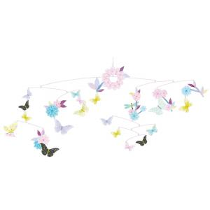 Djeco - DD04320 - Mobiles papier FSC ronde des papillons (fsc) (332122)