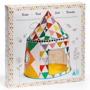 Djeco - DD04490 - Maison, cabanes et tipi Cabane multicolore (332216)