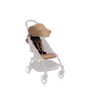 Babyzen - BZ10104-06-A - YOYO+ Pack couleur 6+ Taupe (comprend 1 capote 6+, 1 coussin) (332848)