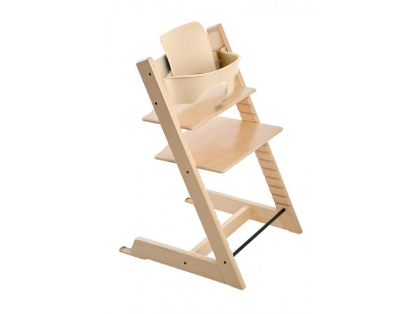 Stokke chaise haute tripp trapp naturel for Chaise haute stokke