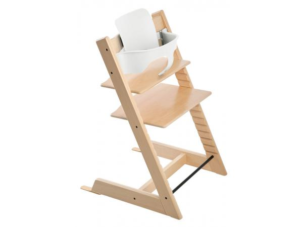stokke chaise haute tripp trapp naturel. Black Bedroom Furniture Sets. Home Design Ideas