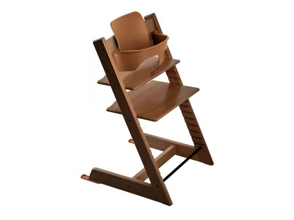 Stokke chaise haute tripp trapp noyer - Chaise haute tripp trapp ...
