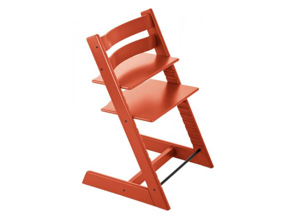 Stokke chaise haute tripp trapp lava orange for Chaise stokke