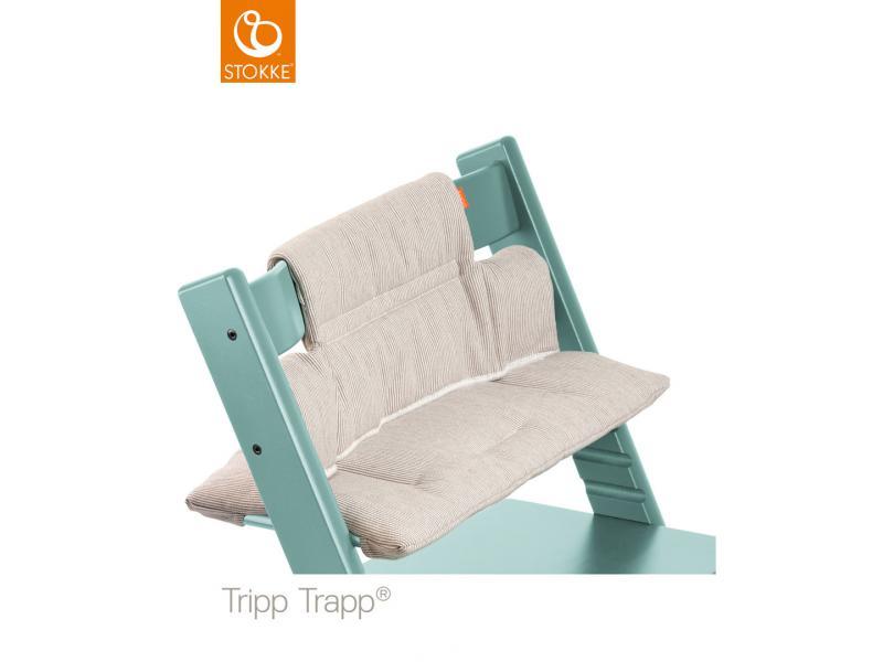 Stokke chaise haute tripp trapp bleu aqua for Chaise stokke